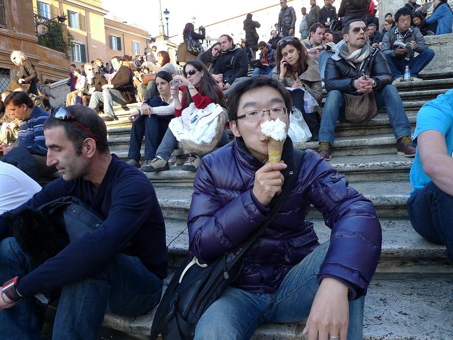 2011年2月6日 罗马 西班牙广场