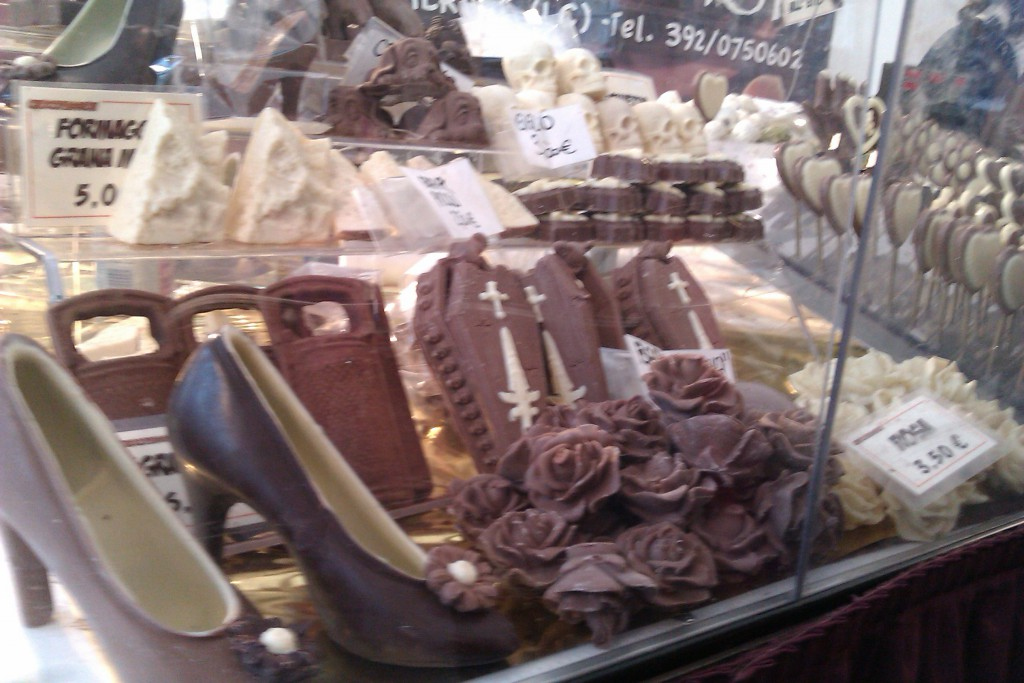 巧克力高跟鞋