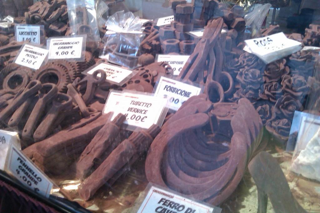 巧克力脚镣